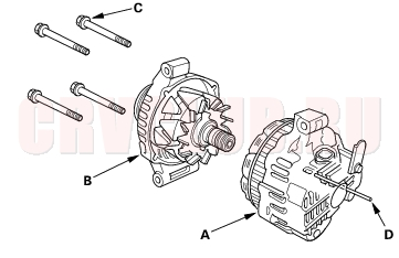 T9683849 Am thinking buying together with 61380 Gemilerin Elektrik Tesisi Ve Dagitim Sistemi Ing also 1995 Ford Crown Victoria Charging Starting together with Group 5c together with 10si 15si Type 116 136 Repair Manual Page 6. on alternator slip rings