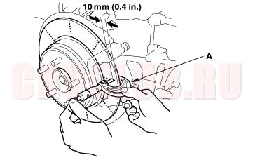 Car Disc Brake Operation