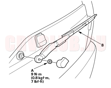 Honda Cr V Wiper Diagram