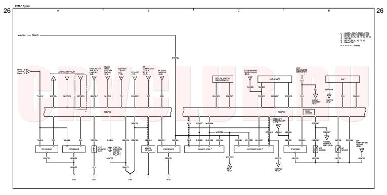 power window wiring diagram honda civic wiring diagram honda pgm fi