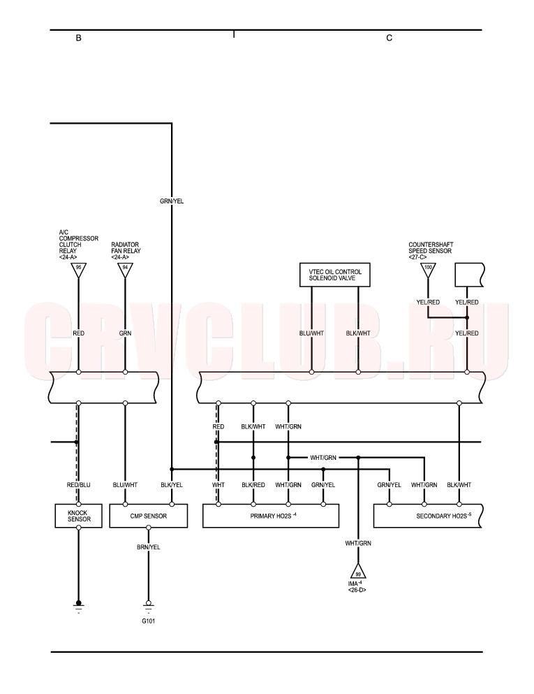 wiring diagram honda pgm fi pgm-fi system (cont'd) 78-104